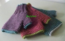 Children's Carrie Fingerless Mitts