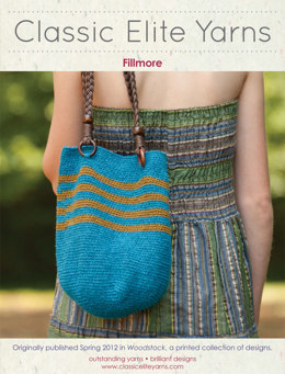 Fillmore Bag in Classic Elite Yarns Cricket - Downloadable PDF