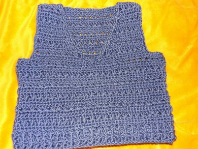 a5790064b87 No 38 Baby Slipover Crochet pattern by Mrs Shears