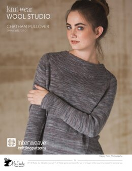Chatham Pullover in Mrs. Crosby Hat Box - Downloadable PDF