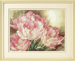 Dimensions Tulip Trio Cross Stitch Kit - Multi