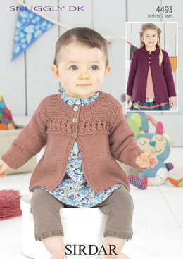 Coats in Sirdar Snuggly DK - 4493