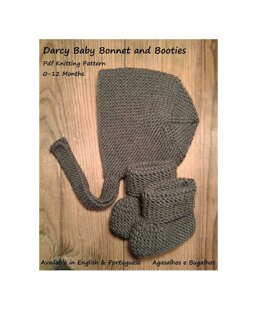 Darcy Baby Bonnet and Booties