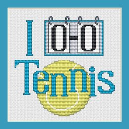 Sue Hillis Designs Tennis (3/pkg) - PS187 - Leaflet