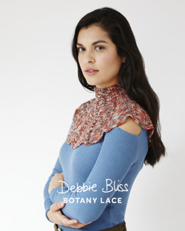 Lace Cowl and Mitts in Debbie Bliss Botany Lace - DB127 - Leaflet