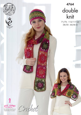 Waistcoat & Accessories in King Cole Riot DK - 4764 - Leaflet