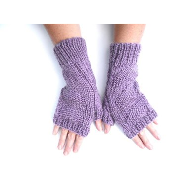 3 hearts fingerless gloves