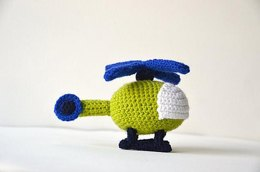 Helicopter Crochet Pattern, Helicopter Amigurumi