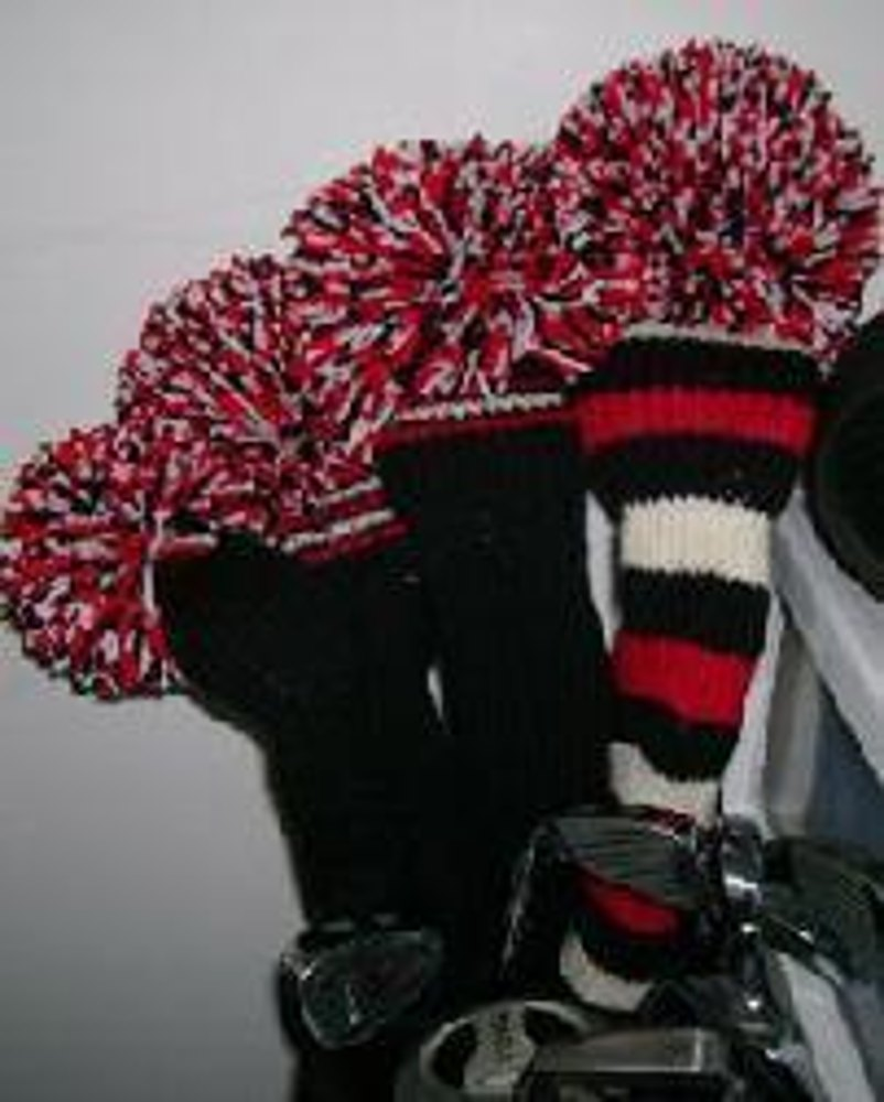 Golf HeadCovers Knitting pattern by Diane Gracely