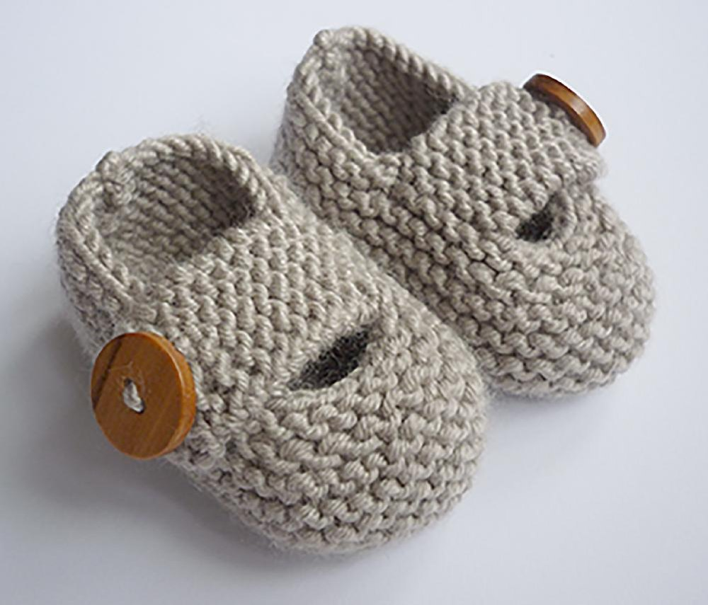 Free 8 Ply Knitting Patterns For Children : Free Knitting Pattern Baby Booties 8 Ply