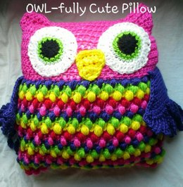 OWL-fully Cute Pillow