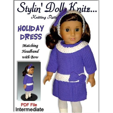 Doll Clothes Pattern, for American Girl and 18 inch doll. 028 ...