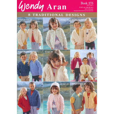 Wendy Aran 8 Traditional Designs - 275