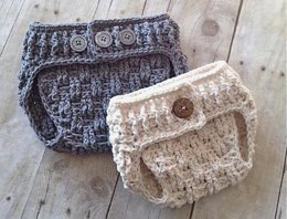 Texture Weave Diaper Cover
