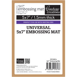 """Artdeco Creations Couture Creations Universal Latex Embossing Mat - 5""""X7"""""""