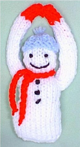 Hanging Snowman Ornament