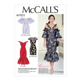 McCall's Misses' Dresses M7835 - Sewing Pattern
