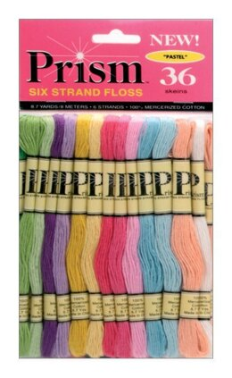 DMC Prism 6-Strand Cotton 36 Skein Pack