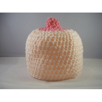 Baby Boob Beanie Hat For Breastfeeding Toddler To Adult Size Crochet