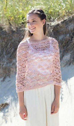 Carico Poncho in Berroco Mixer - Downloadable PDF