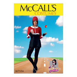 McCall's Cropped Sweatshirts and Princess-Seam Rompers M7556 - Sewing Pattern