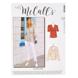 McCall's #LilyMcCalls - Misses' Tops M8039 - Sewing Pattern