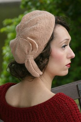 Sunday Pictorial Beret in Susan Crawford Excelana 4 Ply