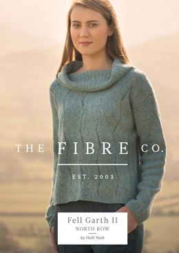 North Row Sweater in The Fibre Co. Arranmore Light - Downloadable PDF