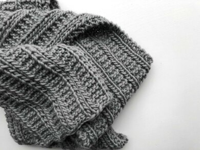 Harper Scarf Knitting Pattern By Cluck Cluck Boots