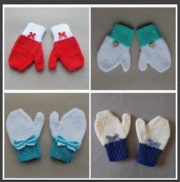 No Trouble Toddler & Young Child Mittens