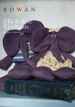 Ella and Eric Elephants in Rowan Cotton Glace