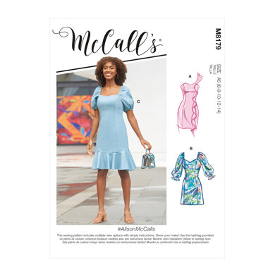 McCall's Misses' Dresses M8179 - Sewing Pattern