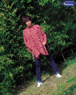 Young Pullover in Adriafil Nuit - Downloadable PDF