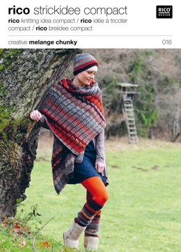 Cap, Scarf and Leg Warmers in Rico Creative Melange Chunky - 016