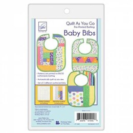 June Tailor Inc Quilt As You Go Baby Bibs 3 pack