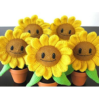 Happy Sunflower Amigurumi