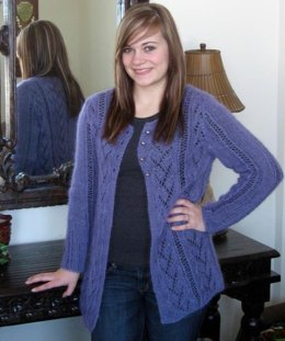 Arlita Capra Cardigan in Mango Moon Capra - Downloadable PDF