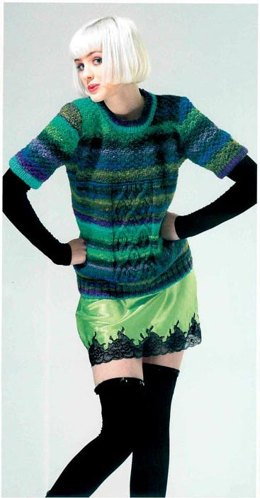 Relax Sweater in Noro Kureyon