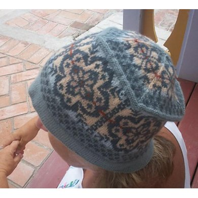 Floral Me Softly Fair Isle Hat