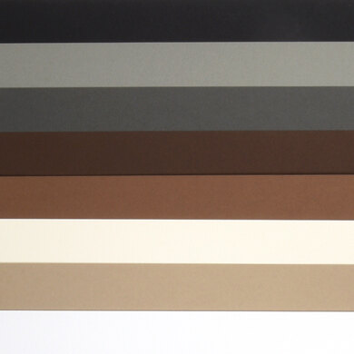 """LoveCrafts Neutral Collection Heavyweight Cardstock 100lb 8.5"""" x 11"""" 16 Pack"""