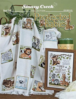 Stoney Creek Protected Babies Afghan - Book - SCB508 -  Leaflet