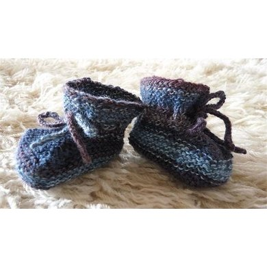 Lois' Baby Booties