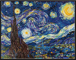 Diamond Dotz Starry Night (Van Gogh) Diamond Painting Kit