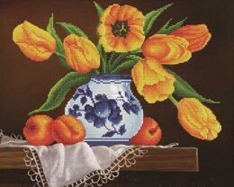Diamond Dotz Yellow Tulips Diamond Painting Kit