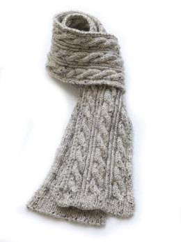 Mr. O'Leary's Scarf in Lion Brand Alpine Wool - 90179AD
