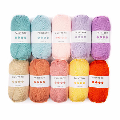 Paintbox Yarns Simply DK 10 Ball Colour Pack - Designed by You