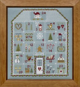 Historical Sampler Company Advent House Cross Stitch Kit