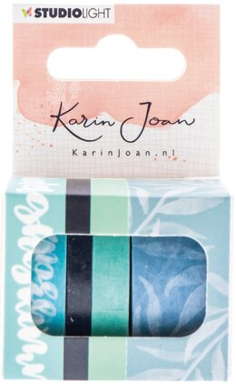 Studio Light Karin Joan Blooming Collection Washi Tape - NR. 02