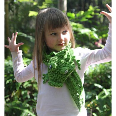 Crocodile Scarf Knitting Pattern By Rian Anderson Knitting