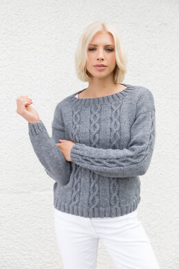 Jumper in Rico Creative Soft Wool Aran - Downloadable PDF